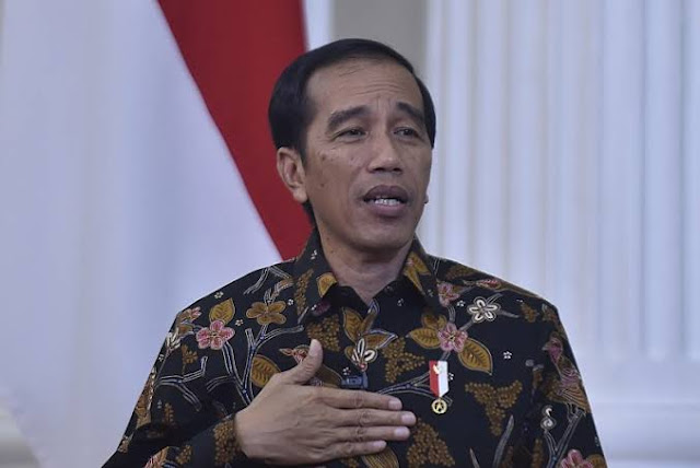 Jokowi Sebut Ekonomi 2020 Turun karena Corona