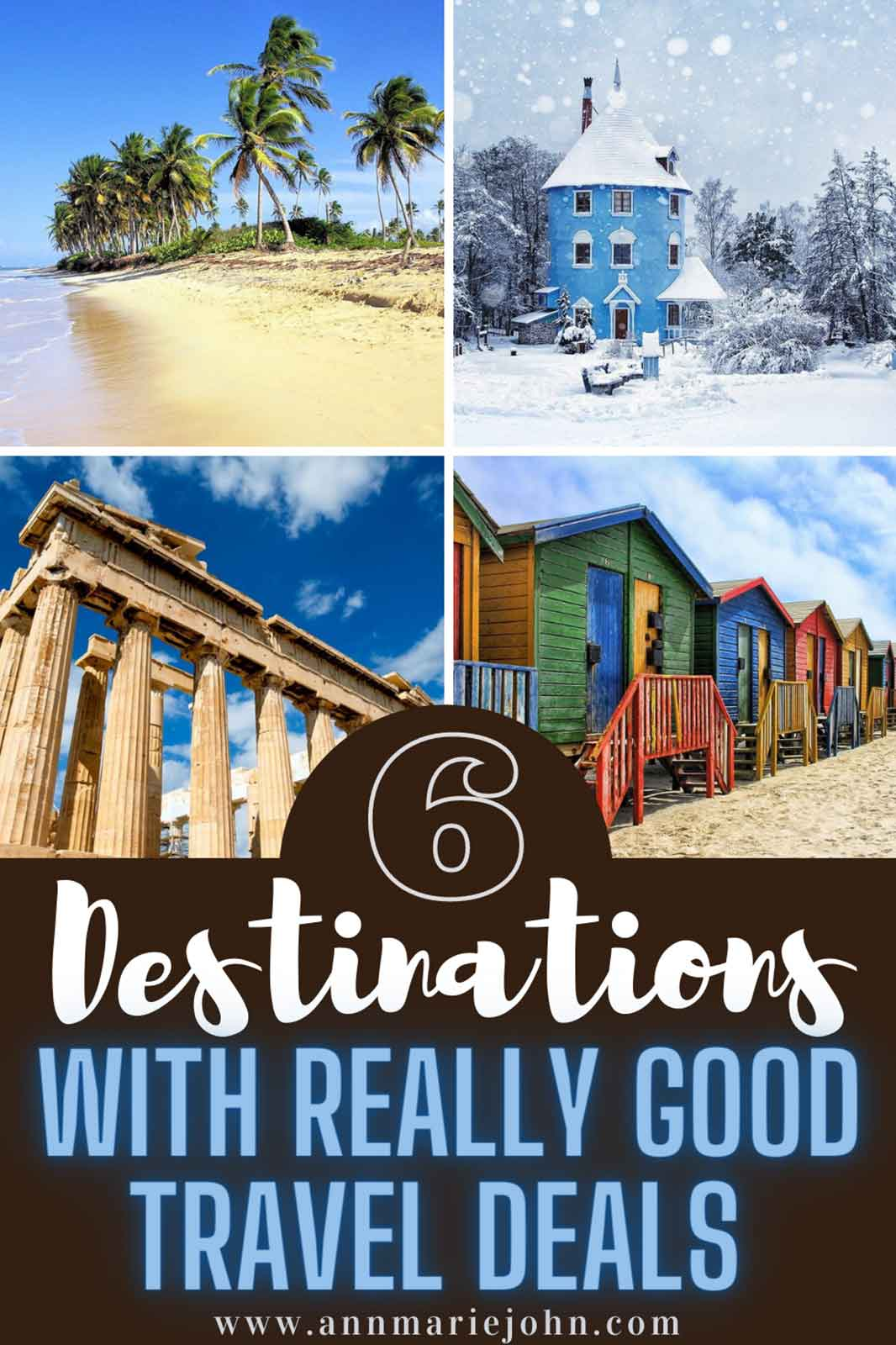 6 Destinations You Can Find Really Good Travel Deals For