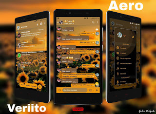 Sunflowers Theme For YOWhatsApp & Fouad WhatsApp By Veriito
