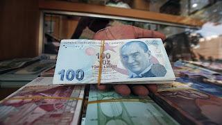 سعر صرف الليرة التركية مقابل العملات الرئيسية الأحد 5/7/2020