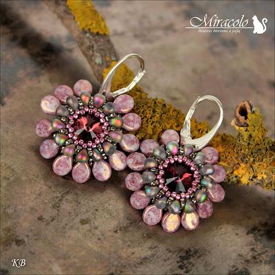 Miracolo, rivoli, pip beads, koraliki pip, miyuki drop