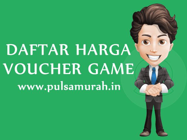 Daftar Harga Voucher Game Online Murah PulsaMurah.in
