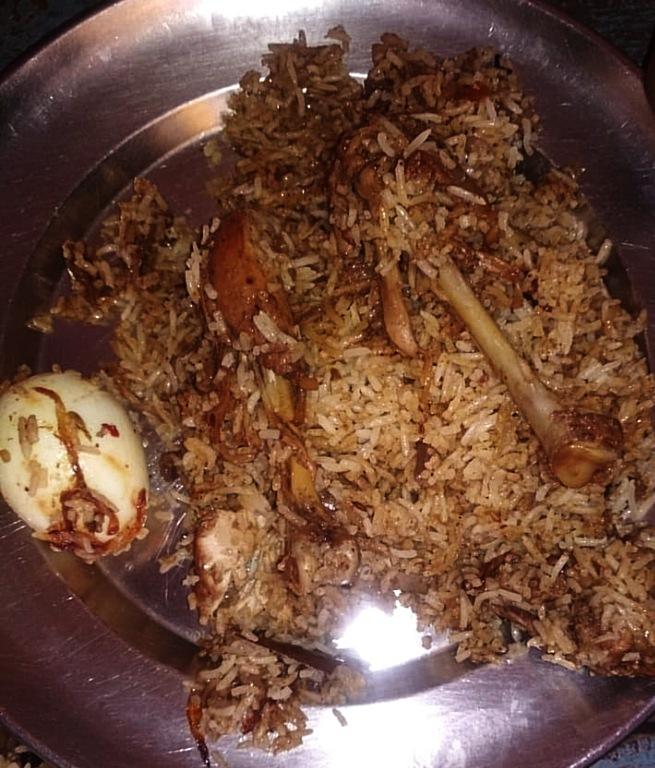 The Engineer's Chicken Biryani