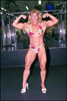 Female Bodybuilder Emery Miller