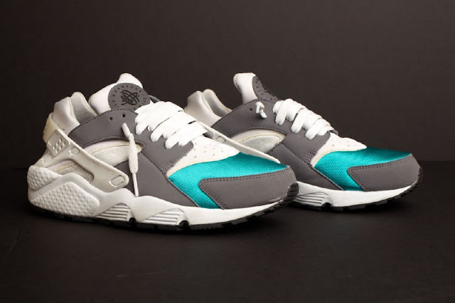 b25c20c87a2e ... canada sample nike air huarache le white light grey teal 7a4ac 62e4f