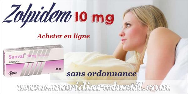 Zolpidem somnifère en ligne sans ordonnance sur www.meridiaredcutil.com