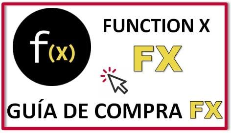Cómo y Dónde Comprar Criptomoneda FUNCTION X (FX)