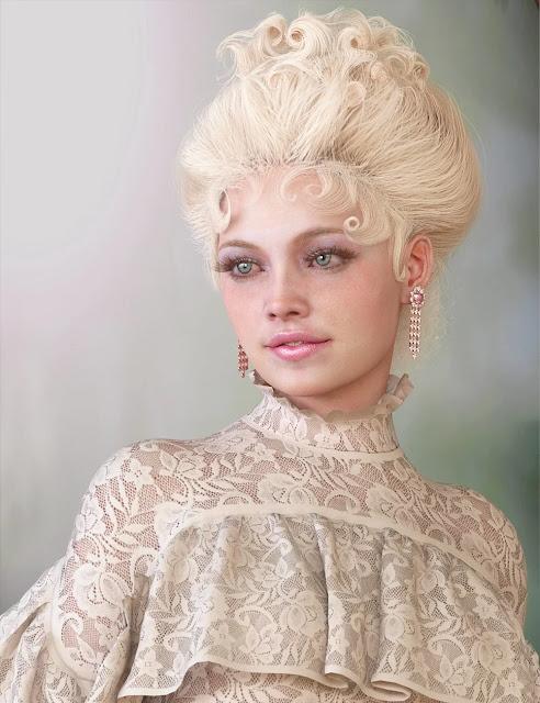 My Edwardian Hair for Genesis 8 Female