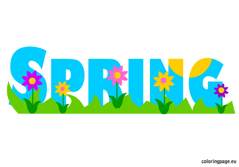 spring vacation clipart - photo #41