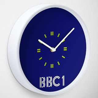 BBC1 Retro Clock