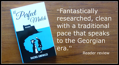 Review quote for A Perfect Match by Rachel Knowles