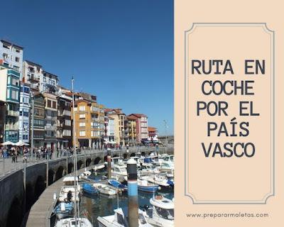 viajar en coche País Vasco