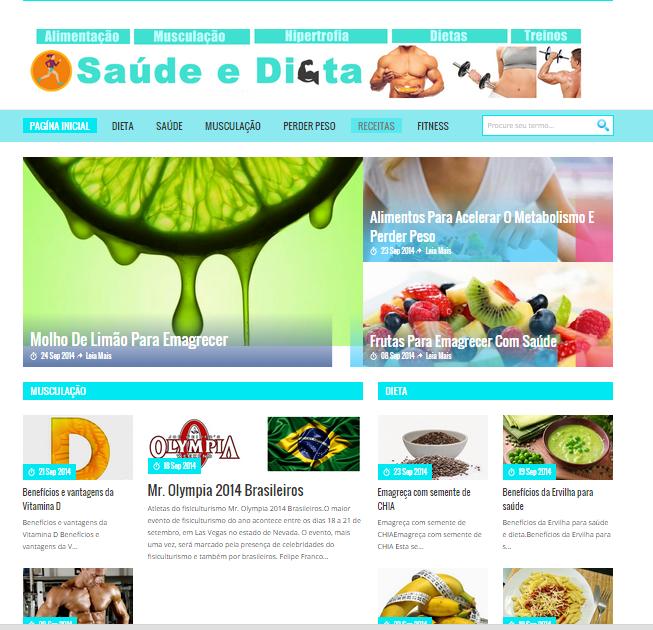 Anuncie no saúdeedieta.com