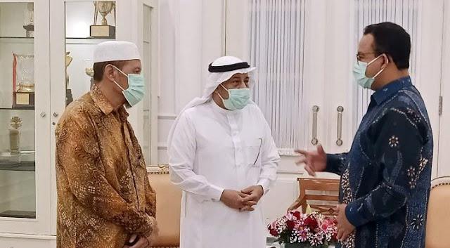Alhamdulillah, Anies Dapat Saweran Rp 4.3 M dari Liga Muslim Sedunia untuk Tangani Corona