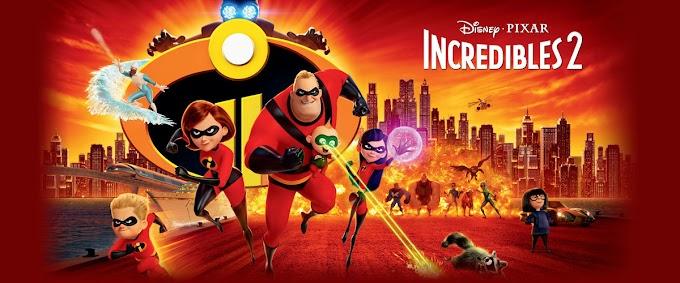 Review Dan Trivia Filem Superhero; Incredibles 2