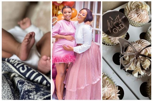 Andile Mpisane's baby mama