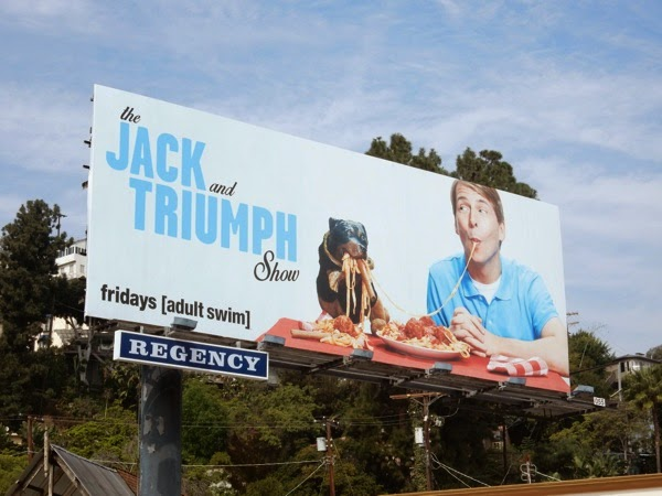 Jack and Triumph Show billboard