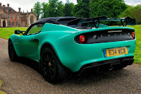 Lotus Elise Cup 250 (2017) Rear Side