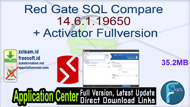 Red Gate SQL Compare 14.6.1.19650 + Activator Fullversion