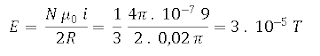 Menghitung induksi magnetik kawat melingkar