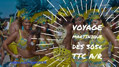 Vol Martinique promo