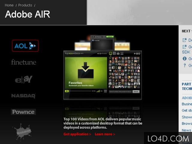 تحميل برنامج ادوبي اير Adobe Air 2016 مجانا