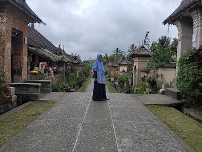 destinasi wisata menarik di Bali, Desa penglipuran