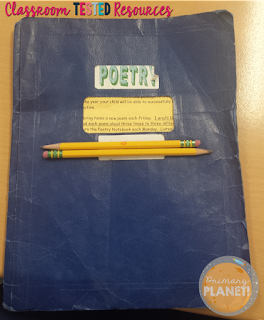 Poetry, Poetry Notebook, Reading Fluency