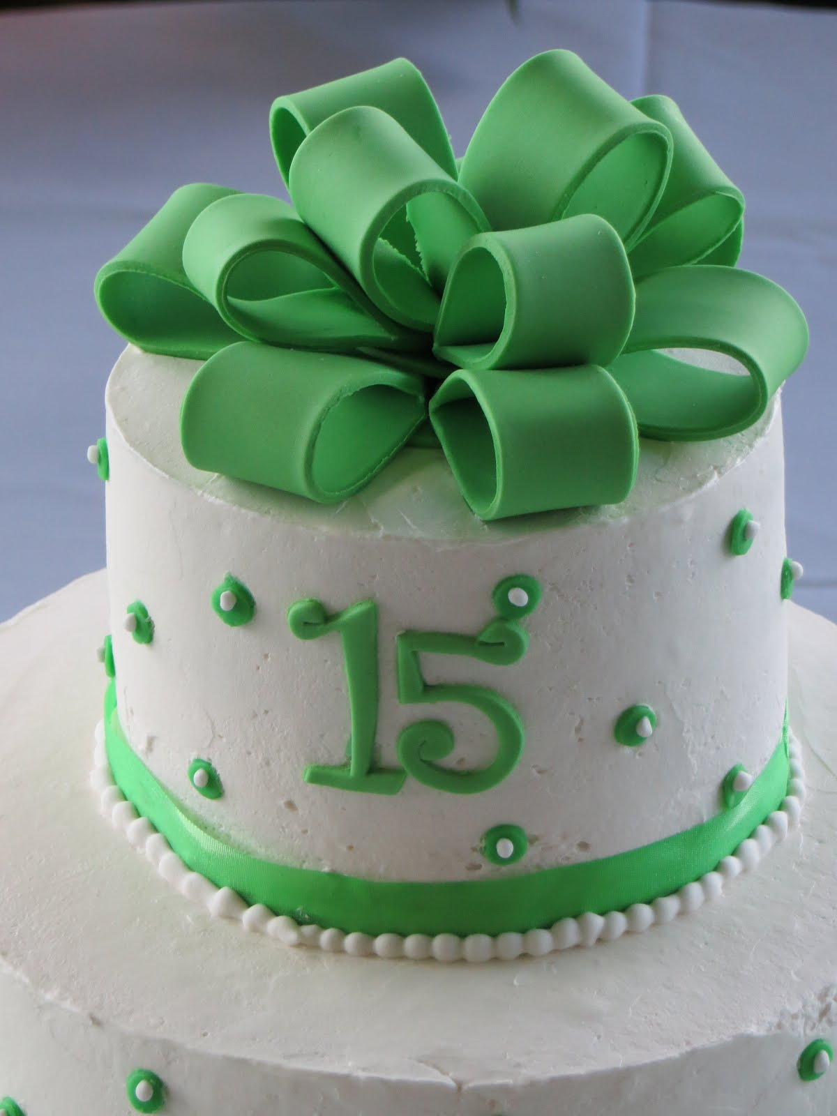 Cakes And More Quinceanera Cake Sweet 15 Cake Green