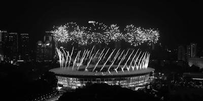 Pembukaan Asian Games 2018 di Indonesia yang meriah