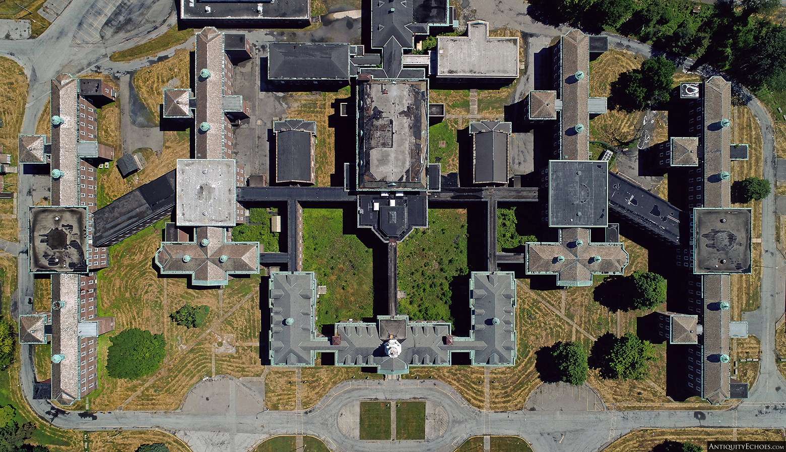 Allentown State Hospital from Above