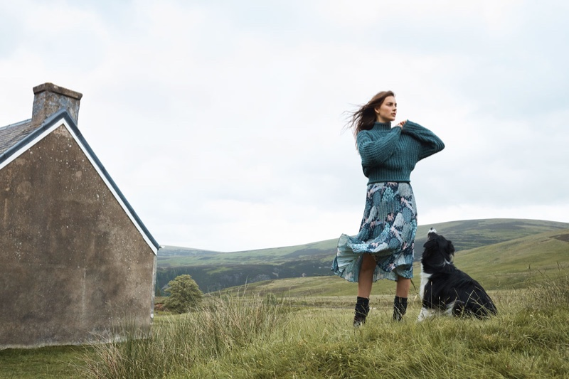 H&M x Morris & Co. 2018 Campaign
