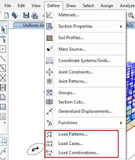 patrones de carga casos de carga y combinaciones de carga