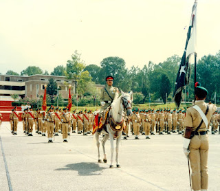 Raheel Shareef During  PMA Kakul Prade