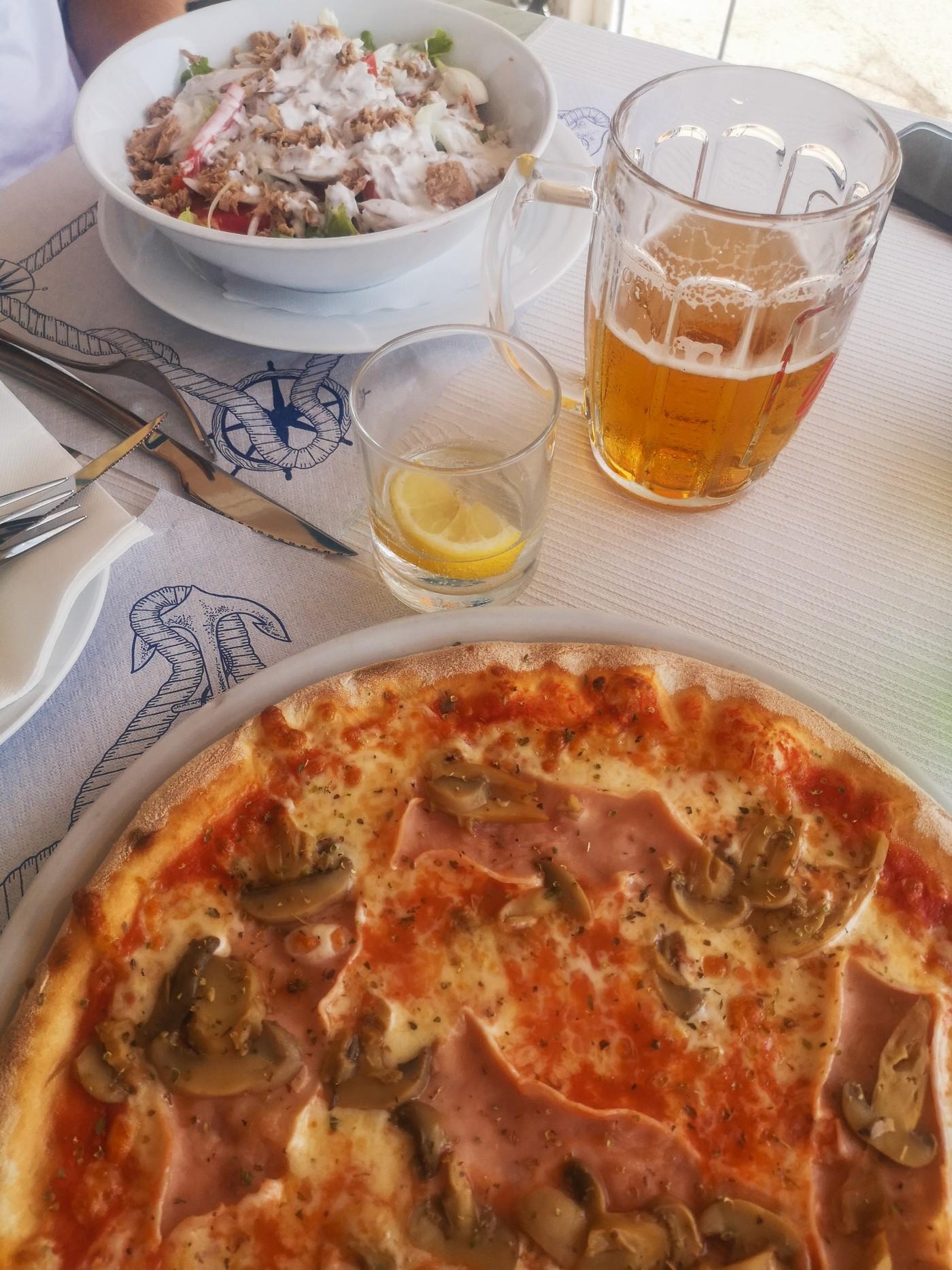 Kratek poletni oddih v Piranu Restavracija Riva