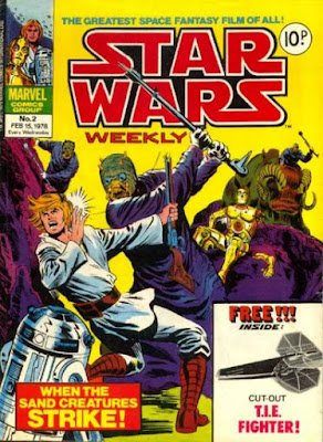 Marvel UK, Star Wars Weekly #2, the Sand People