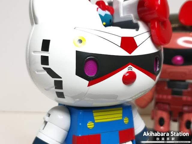 Figuras: Review de Chogokin Hello Kitty Gundam y Char's Zaku II - Tamashii Nations