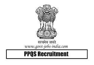 PPQS Technical Officer Recruitment 2020