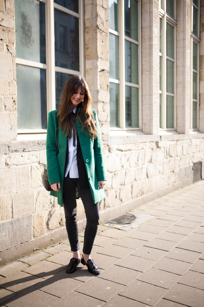 Outfit: Beatnik inspired professional in perfect boyfriend blazer