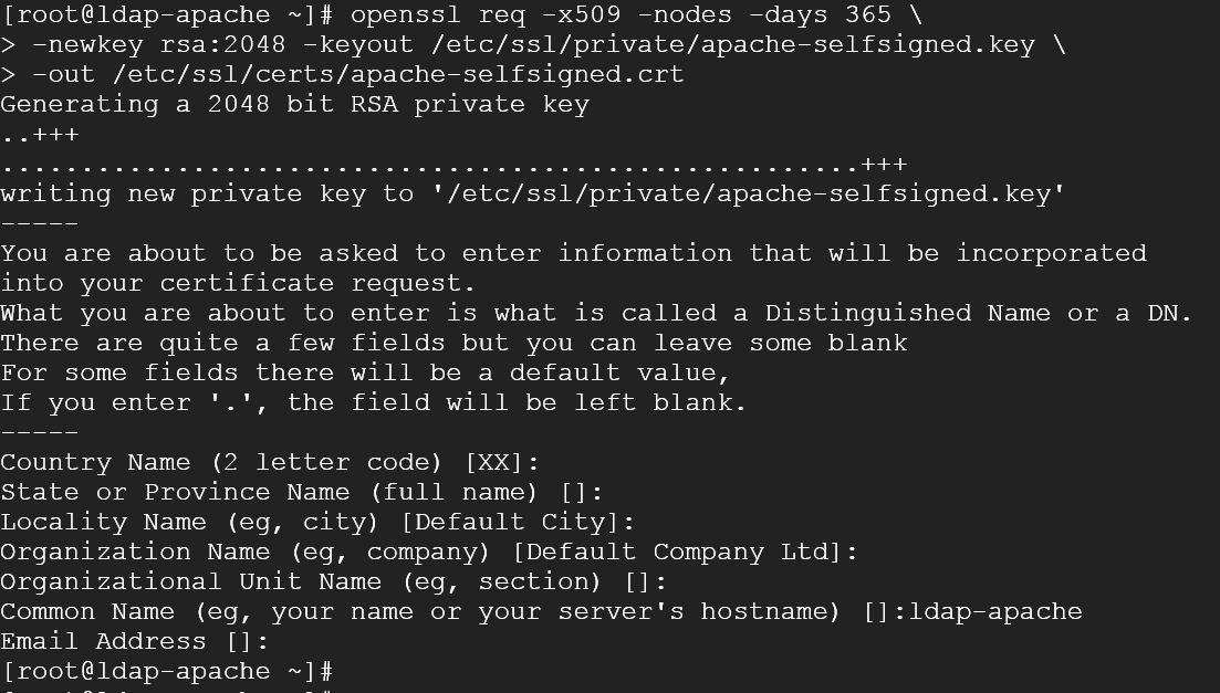 devopsbar: Deploy Apache web server using openLDAP and