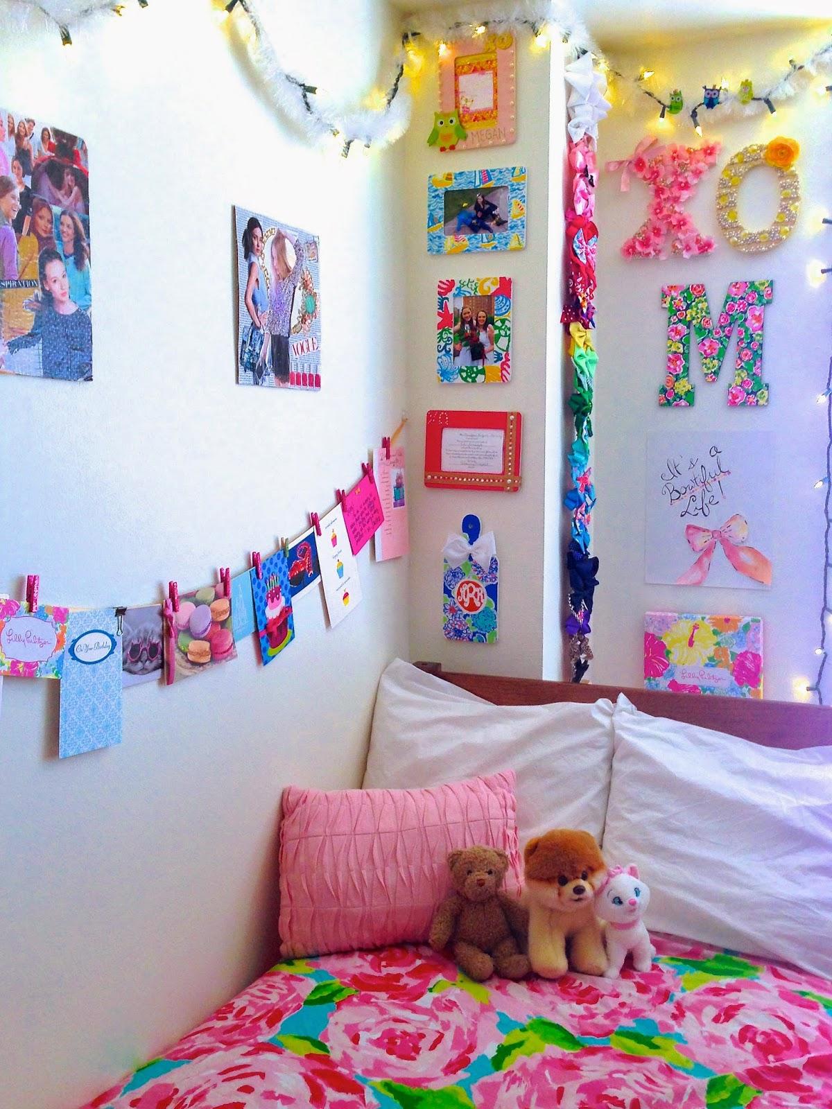 My Colorful Freshman Dorm Bowtiful Life