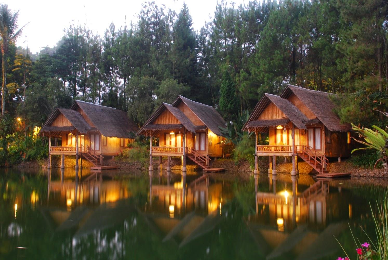 Indahnya Kampung Sampireun Garut Jawa Barat