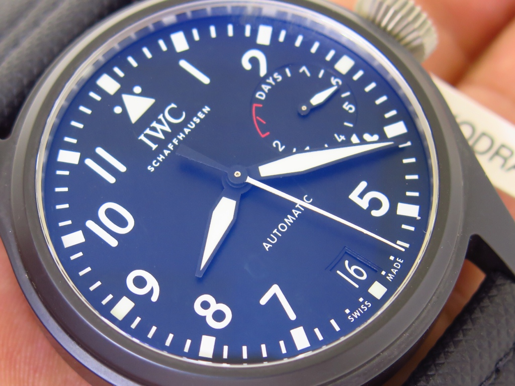 IWC 46mm CERAMIC CASE BIG PILOT'S WATCH TOP GUN IW502001 - AUTOMATIC 7 DAYS