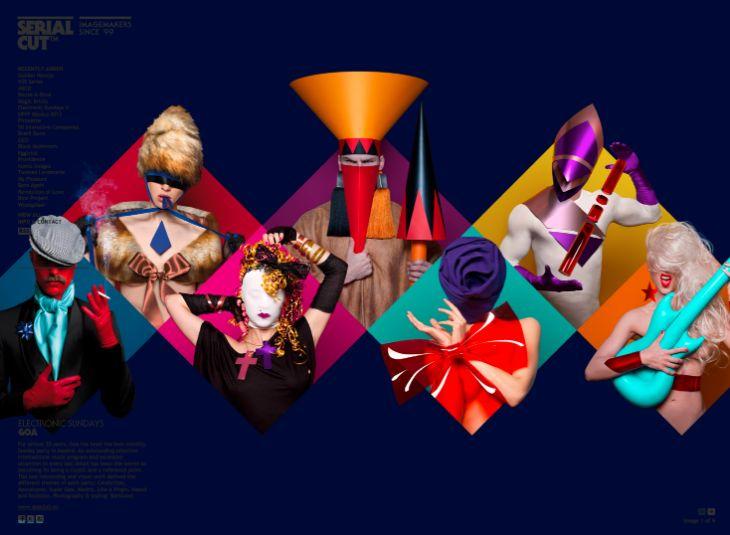 Serialcut - Graphic Design - Colours