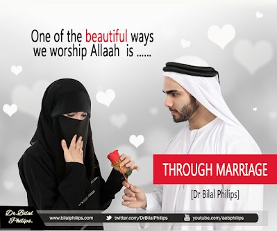 One of the beautiful ways we worship Allaah is through Marriage| Islamic Marriage Quotes by Ummat-e-Nabi.com