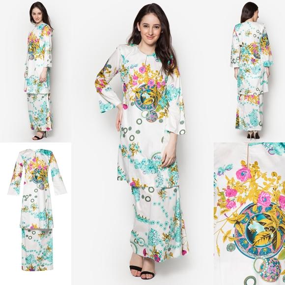 Fesyen Baju Raya Terkini Baju Kurung Pahang 2016
