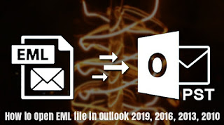 How to Open EML file in Outlook 2019, 2016, 2013, 2010