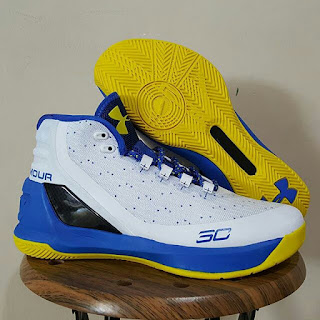 Under Armour Curry 3 Dub nation Premium, toko sepatu basket , jual sepatu basket, harga basket under armour, under armour curry , curry 3
