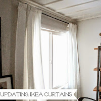 http://www.wonderfullymadebyleslie.com/2015/02/how-to-update-ikea-curtains-that-have.html