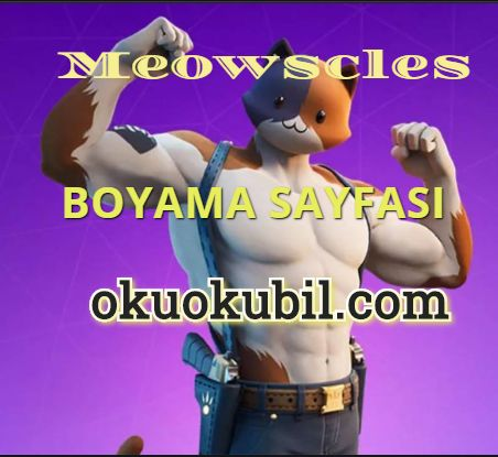 Meowscles Boyama Sayfası İle Çizim Öğren Yeni 2020